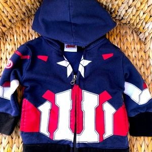 Avengers Captain America hoodie 12M
